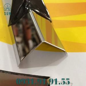 2021-07-24 11:11:13  10  Nẹp inox chữ V - Nẹp V inox vàng gương - Nẹp V50 inox bóng - Nẹp V20 inox trắng xướng 150,000