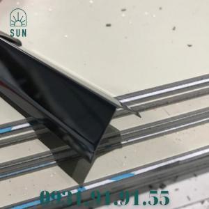 2021-07-24 11:11:13  5  Nẹp inox chữ V - Nẹp V inox vàng gương - Nẹp V50 inox bóng - Nẹp V20 inox trắng xướng 150,000