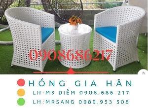 2021-07-24 15:49:21 Bàn ghế nhựa giả mây Hồng Gia Hân M037 2,350,000