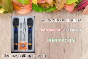 2021-07-25 10:23:28  3  Micro không dây Bose Series E xài cho Loa kéo, Amply đều được 950,000