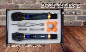 2021-07-25 10:23:28  2  Micro không dây Bose Series E xài cho Loa kéo, Amply đều được 950,000