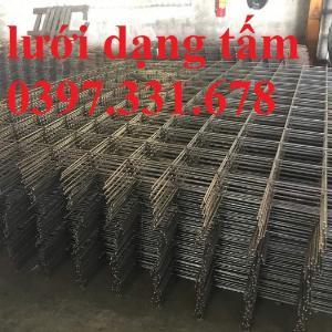 Lưới thép hàn, lưới thép hàn phi 6 a200x200 giá tốt tại Hà Nội