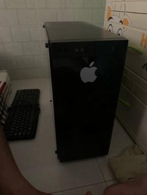 Thùng PC G4600 8gb ram 128gb ssd