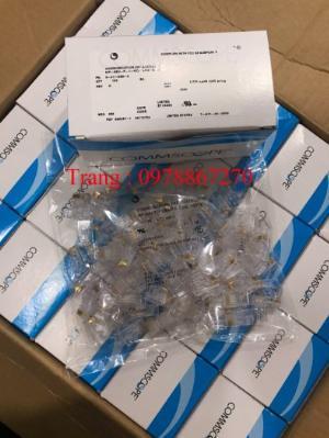 Đầu bấm hạt mạng cat6 mã 621119893 loại 1 mảnh, hàng có sẵn