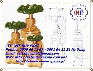 Van cửa đồng MIHA phi 60 ( DN50)