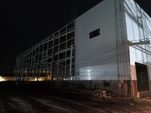 Panel eps làm vách cho bệnh viện dã chiến tiện lợi