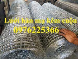 Lưới hàn cuộn, lưới hàn tấm, lưới thép hàn mạ kẽm