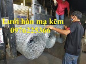 Lưới thép hàn cuộn, lưới thép hàn mạ kẽm, lưới hàn ô vuông