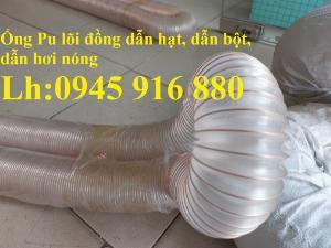 Mua ống Pu lõi kẽm mạ đồng để thu gom bụi trong nhà máy, xưởng sản xuất giá rẻ