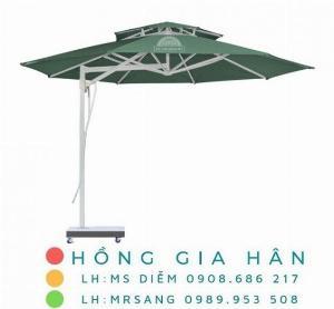 Dù lệch tâm che mưa nắng Hồng Gia Hân D002