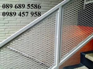 Lưới thép dập giãn, Lưới hình thoi, Lưới mắt cáo 30x60, 45x90, Lưới tô tường