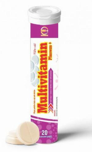 Viên sủi MULTIVITAMIN C hỗ trợ tăng cường hệ miễn dịch.