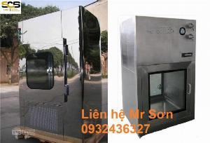 Hộp thông gió Air Shower Passbox Inox 304