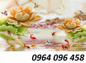 Gạch tranh 3d hoa giả ngọc - LHD32