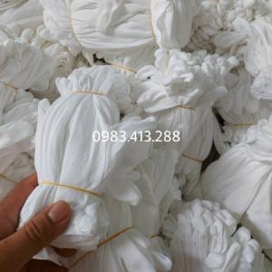 Bán buôn số lượng lớn găng tay cotong màu trắng