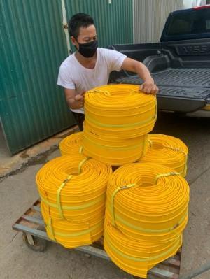 Khớp nối nhựa pvc kn 92 cuộn 50m-cao 20cm chống thấm nền móng