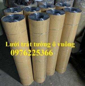 Lưới trát tường ô vuông 5x5, 10x10,15x15, 20x20x25x25 có sẵn giá tốt