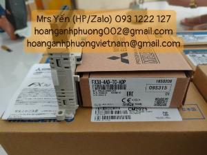 Module FX3U-4AD-TC-ADP | Mitsubishi | Hàng nhập khẩu mới chính hãng