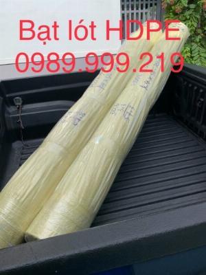 Tấm bạt chống thấm hdpe 2mm khổ 4mx50m 200m2 phủ mái che nông nghiệp