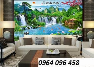 Tranh gạch 3d trang trí phòng khách - DJG43