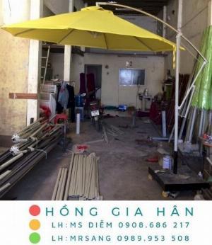 Chuyên cung cấp các loại dù che mưa nắng Hồng Gia Hân D002