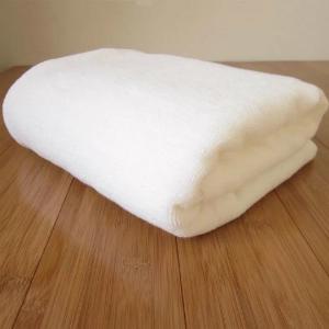 10 chiếc khăn tắm 70 x 140 cm x 500g cotton trắng trơn không in logo