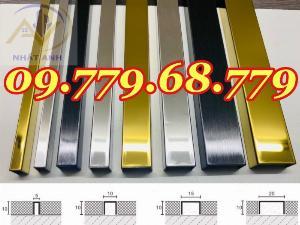 Nẹp u5mm inox 304 , Nẹp U8mm inox 304 , Nẹp U10mm inox 304