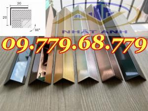 Nẹp V10mm inox 304 , Nẹp V15mm inox 304 , Nẹp v20mm inox 304