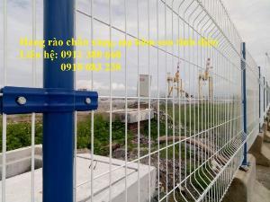 Hàng rào lưới thép hàn chấn sóng, mạ kẽm sơn tĩnh điện- Nhật Minh Hiếu