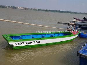 Cano composite du lịch 10 người, vận tải hàng hóa 1400kg