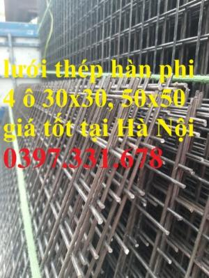 Lưới thép hàn phi 4 ô 30x30mm giá tốt tại Hà Nội