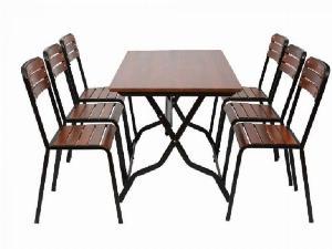 Bàn ghế cafe gỗ cần thanh lý gấp giá sỉ tại xưởng sản xuất anh khoa 3566
