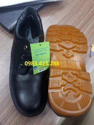 Giày bảo hộ mũi sắt ABC đế kếp chỉ đen