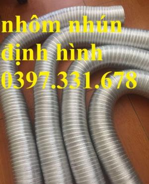Ống nhôm nhún chịu nhiệt phi 100, 125, 150, 200... giá rẻ tại Bắc Ninh
