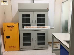 Tủ chứa hóa chất phòng thí nghiệm