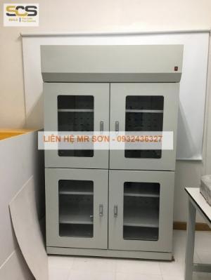 Tủ đựng hóa chất có lọc hấp thu hóa chất kích thước 900mm