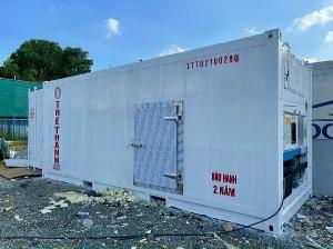 Container lạnh 20feet mở cửa hông