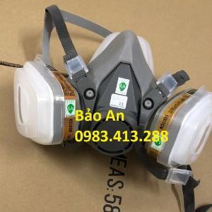 Mặt nạ phòng khí độc 3M 6200