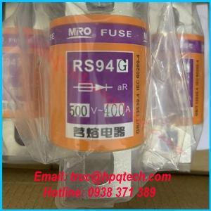 Cầu chì RS-94G 500 V - 400 A | Nhà cung cấp cầu chì chính hãng tại Việt Nam