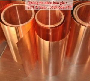 Đồng tấm lá đỏ dày 0.1mm, 0.2mm, 0.25mm, 0.3mm, 0.4mm, 0.5mm, 0.6mm, 0.8mm, 1mm.