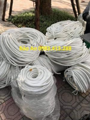 Dây chun tết, dây thừng trắng, dây chão phi từ 6mm đến 30mm ( Giá bán theo KG)