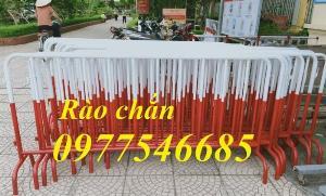 Sản xuất rào chắn chốt, hàng rào di chuyển, rào chắn lối đi tại Hà Nội mới 100%