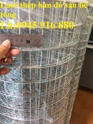 Lưới mạ kẽm hàn ô vuông 50x50 dây 2mm khổ 1mx30m và 1.2mx30m hàng có sẵn
