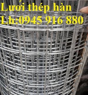 Sản xuất lưới thép hàn mạ kẽm dây 2ly, 2.5ly, 3ly, 4ly  ô lưới 50x50mm dạng tấm, cuộn giá sỉ