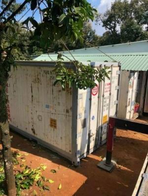 Container lạnh bảo quản sầu riêng