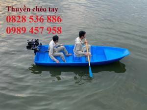 Thuyền chèo tay cho 3 người, Thuyền composite chở 4-5 người, Thuyền cano chở 6 người