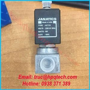 Nhà cung cấp van khí nen Janatics chính hãng bảo hành 12 tháng