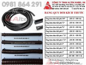 Ống sun sắt luồn dây điện bọc nhựa PVC hàng nhập khẩu