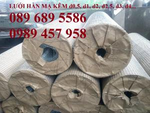 Lưới trát tường 10x10, Lưới chống nứt 6x12, Lưới mạ kẽm 1ly, 1,5ly ô 15x15, 20x20