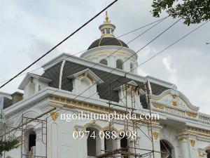 Cung cấp ngói lợp nhà, ngói bitum phủ đá tại Đà Lạt, Khánh Hòa, Huế